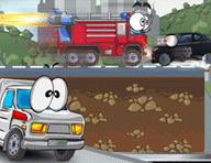 Vehicless 3 Car Toons Game